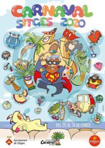 Cartel Oficial Carnaval Sitges 2020